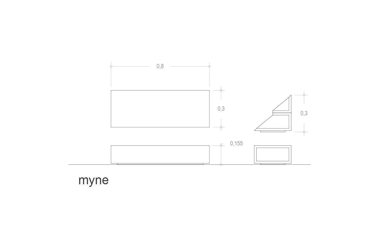 Detalla técnico secreter Myne