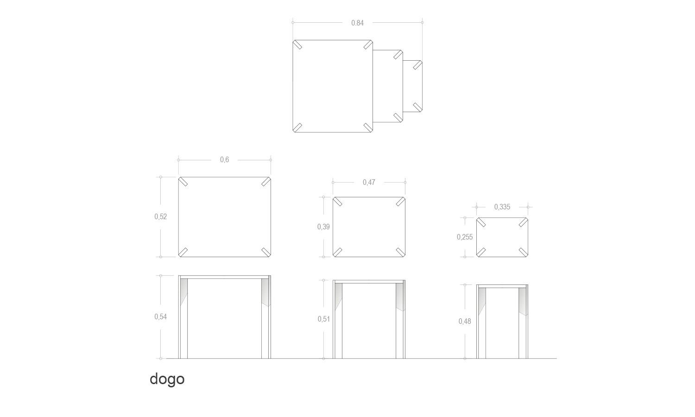Especificaciones Técnicas mesa Dogo